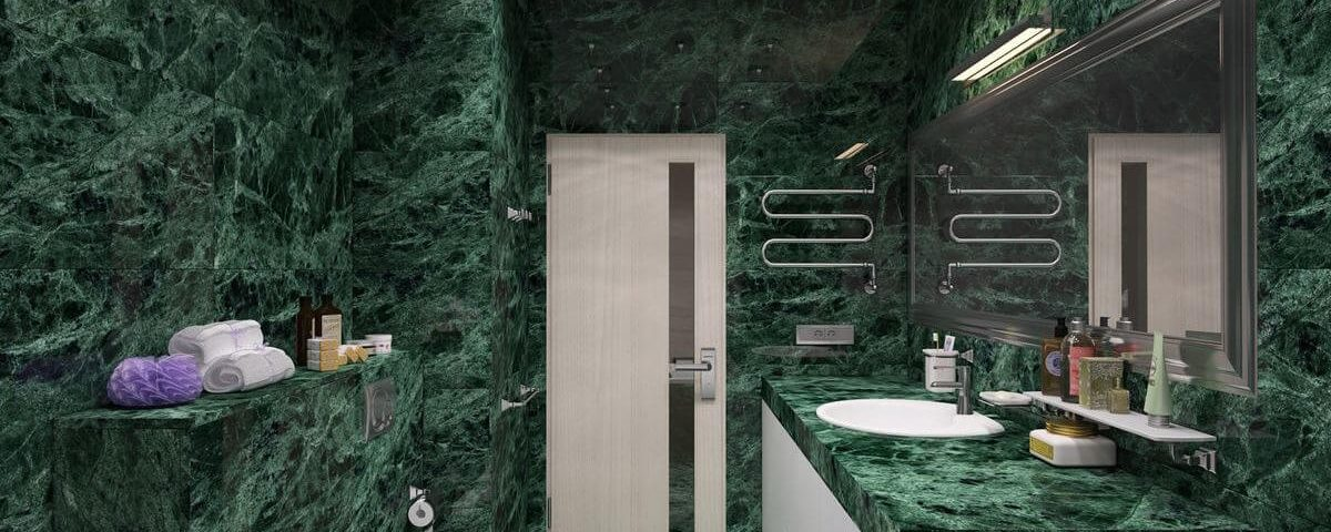 Виды натурального камня для ванной